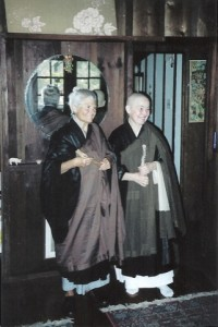 Photo of Darlene Cohen and Susan  Ji-on Susan Postal in 2008